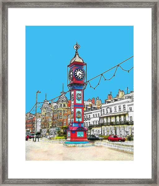 Clock Tower Framed Print by Paul Hemmings