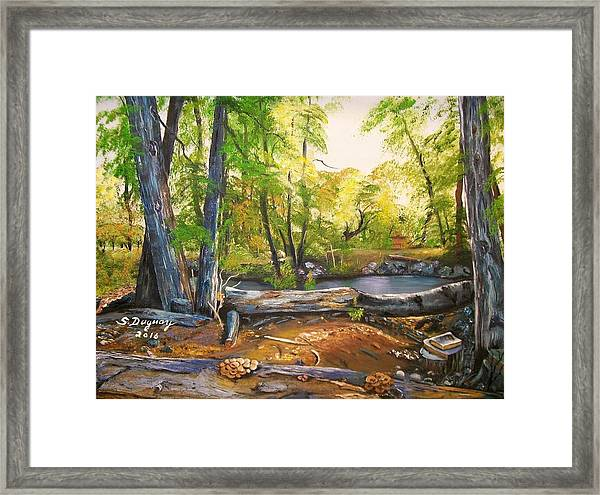 Close To God's Nature Framed Print