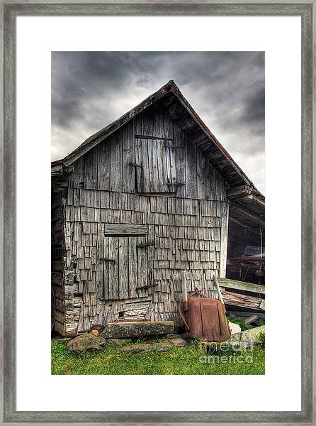 Closed For Business Framed Print