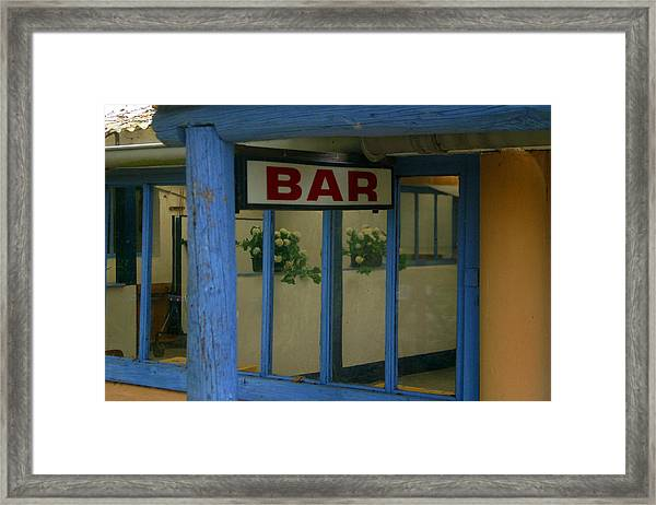 Closed For Now Framed Print by Jez C Self