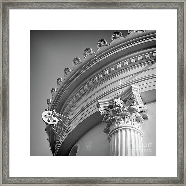 Closeup Of Lighthouse  -58750 Framed Print