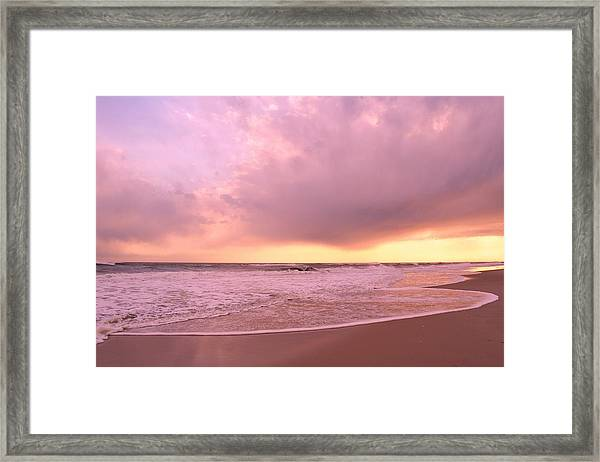 Cloud And Water Framed Print