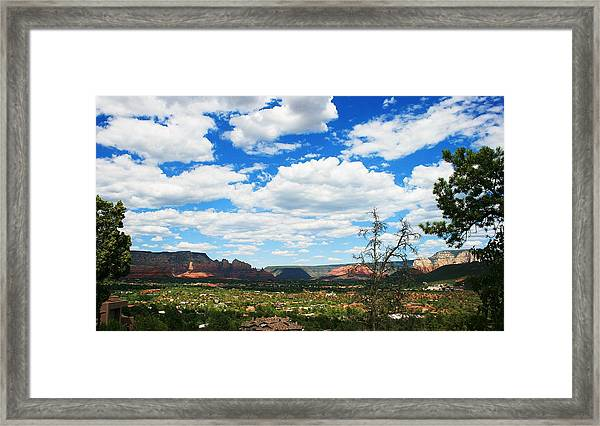Cloud Cruise Framed Print