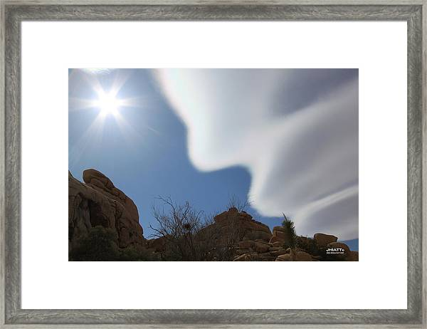 Cloud Dreams Framed Print