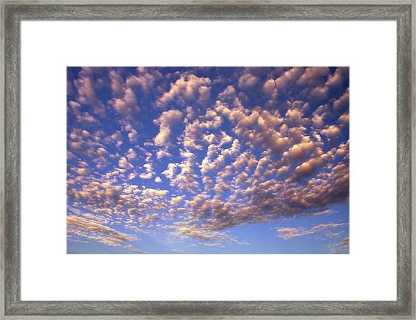 Cloud Expression 1 Framed Print