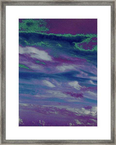Cloud Fantasia Framed Print