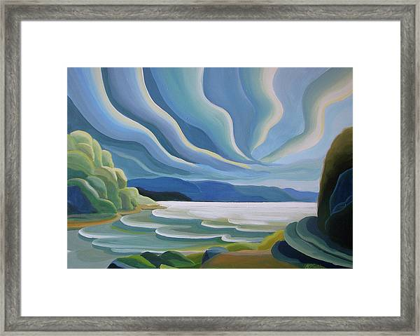 Cloud Forms Framed Print
