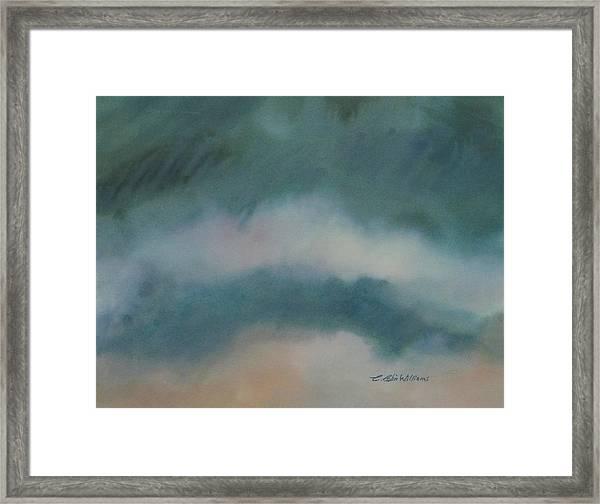 Cloud Study 1 Framed Print