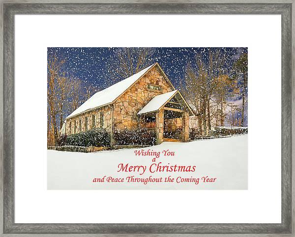 Cloudland Presbyterian Church  Framed Print