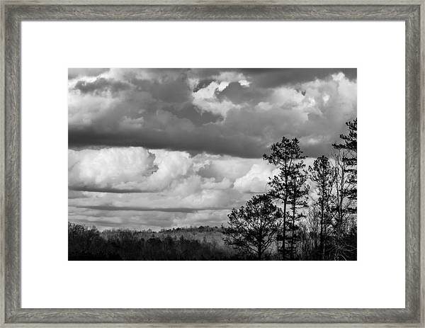 Clouds 2 Framed Print