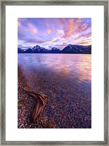 Clouds And Wind Framed Print
