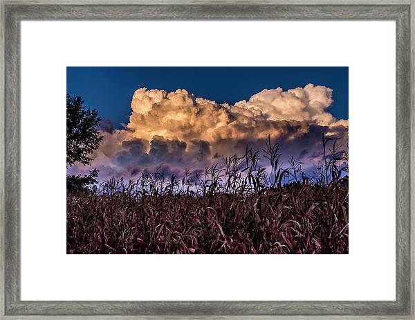 Clouds Over Fagagna Framed Print