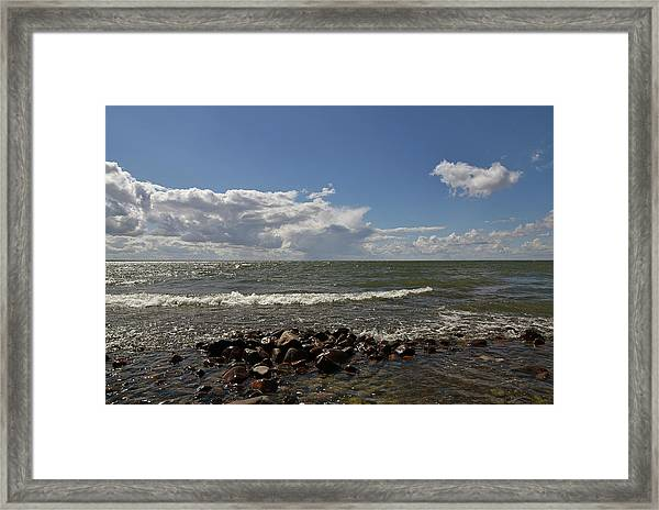 Clouds Over Sea Framed Print