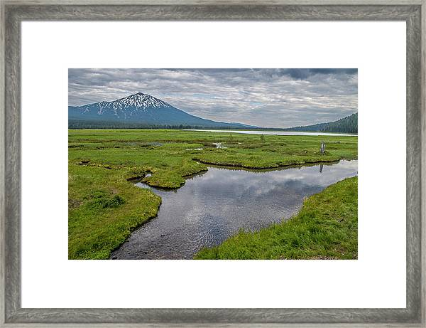 Clouds Over Sparks Framed Print