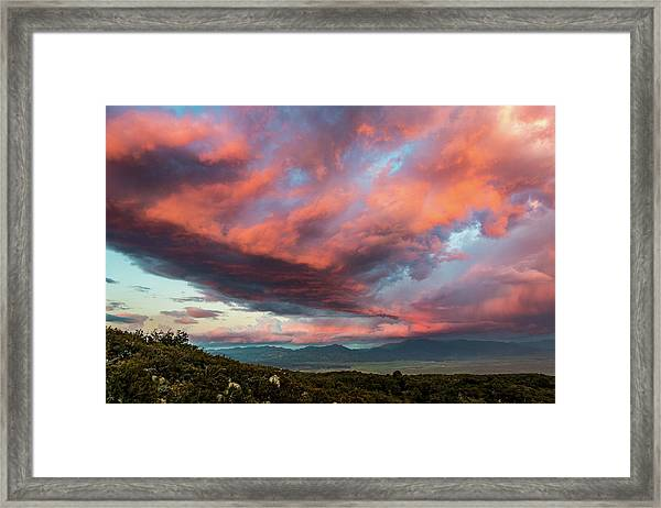 Clouds Over Warner Springs Framed Print