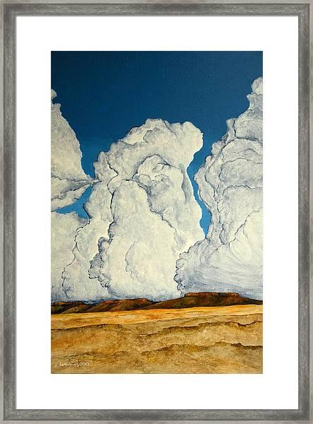 Cloudscape A Framed Print
