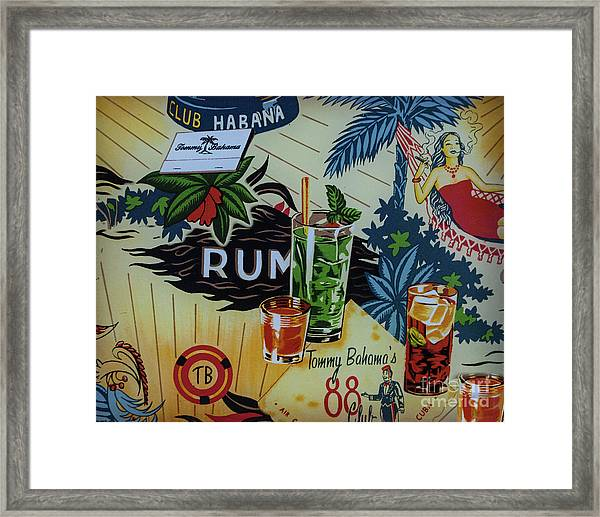 Club Habana Framed Print