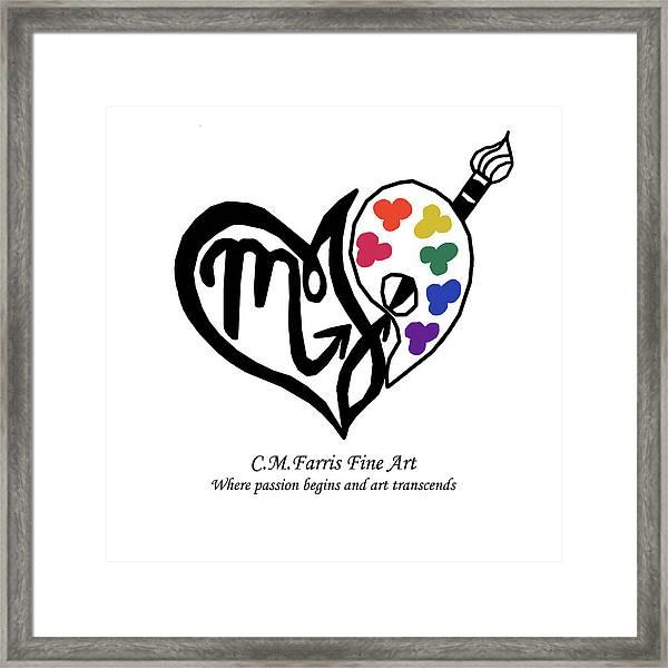 Cmfarris Logo Brand Framed Print