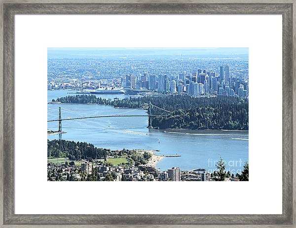 Coal Harbour Framed Print