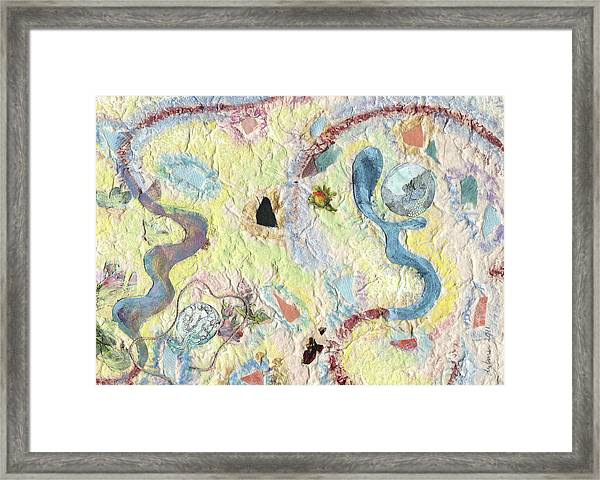 Coalescing - 3 Framed Print
