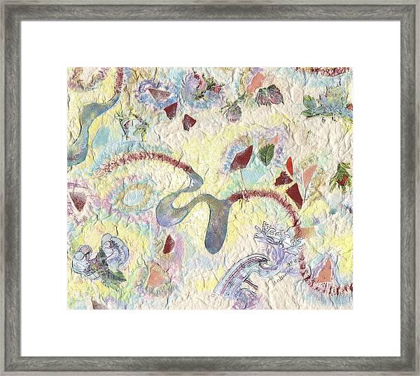 Coalescing - 5 Framed Print