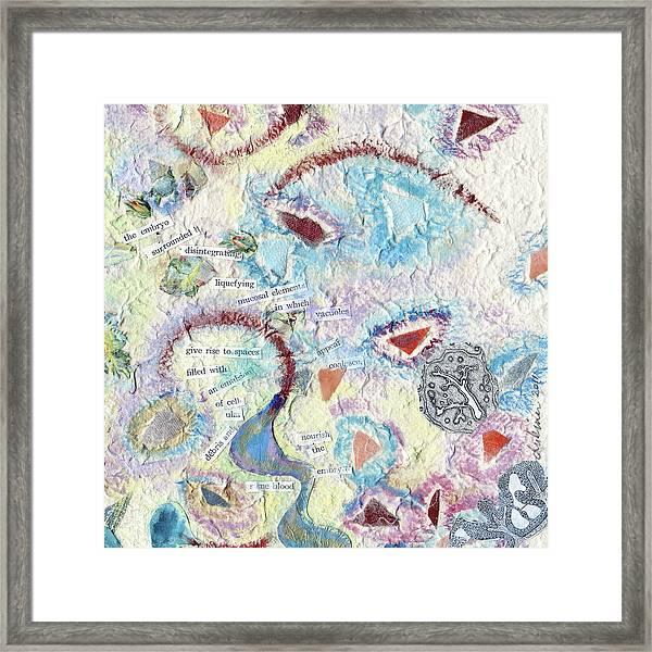 Coalescing - 6 Framed Print