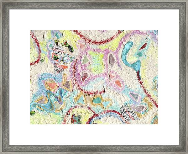 Coalescing - 4 Framed Print