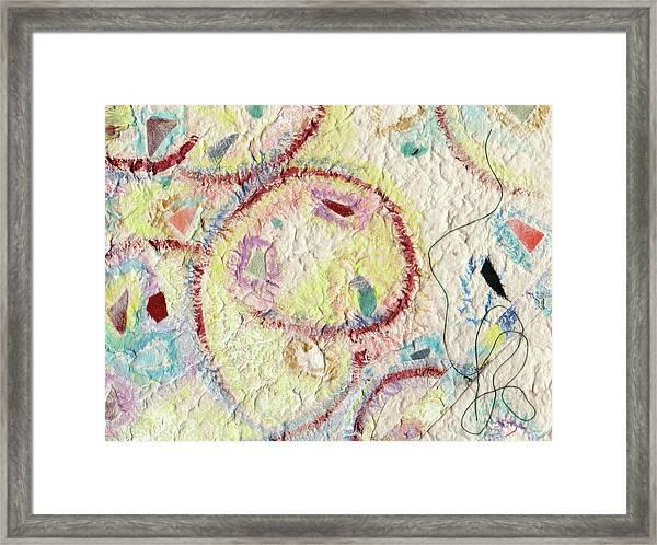 Coalescing - 7 Framed Print