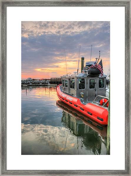 Coast Guard Anacostia Bolling Framed Print