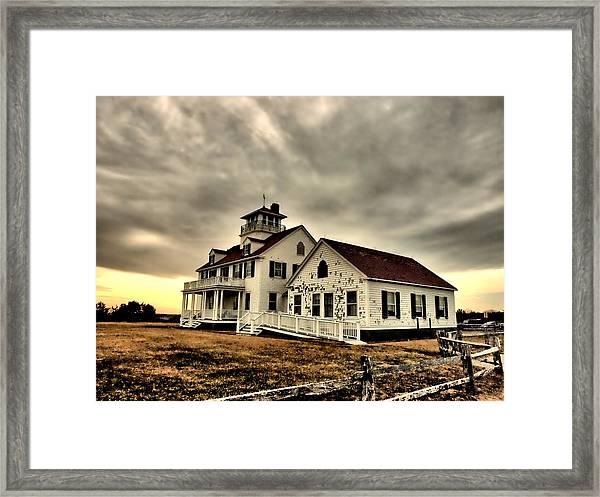 Coast Guard Beach Station Framed Print