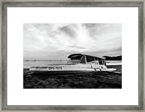 Coast Guardin  Framed Print