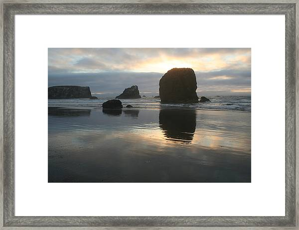 Framed Print featuring the photograph Coastal Light by Dylan Punke