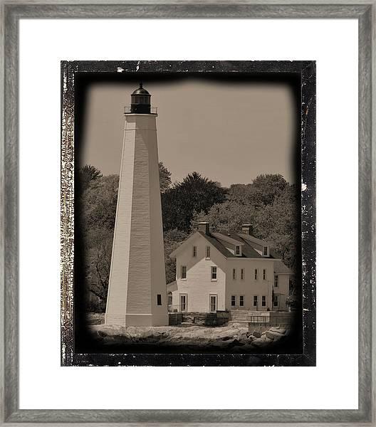 Coastal Lighthouse 2 Framed Print