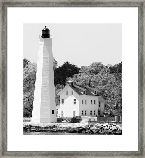 Coastal Lighthouse Framed Print