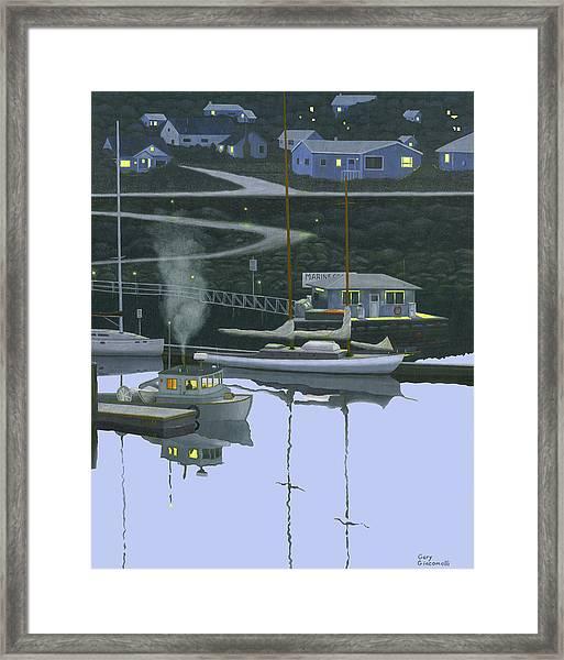 Coastal Morning Framed Print