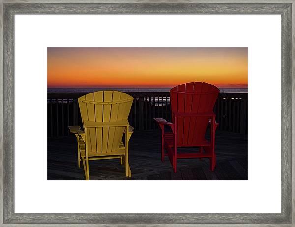 Coastal Mornings Framed Print