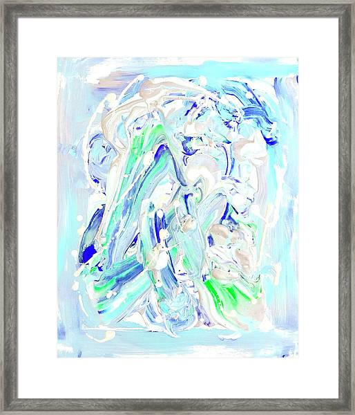 Coastal Splash Framed Print