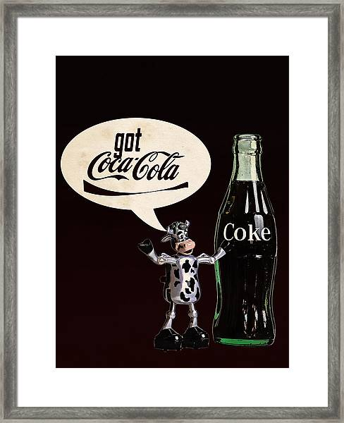 Coca-cola Forever Young 18 Framed Print
