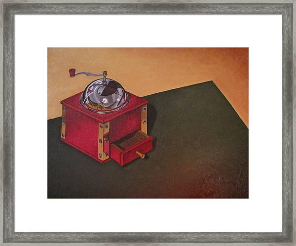 Coffee Grinder Framed Print