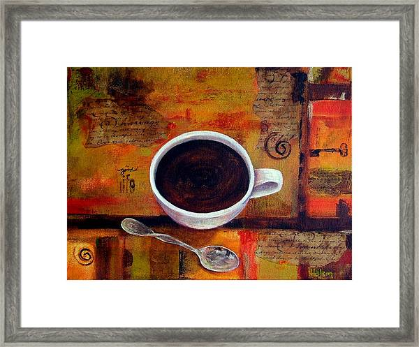 Coffee I Framed Print