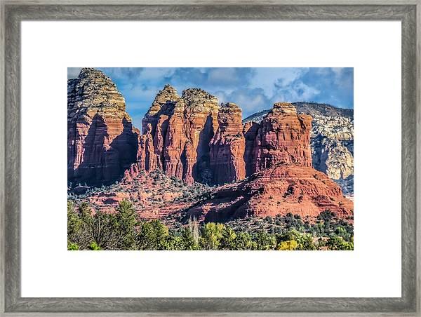 Coffee Pot Rock Framed Print