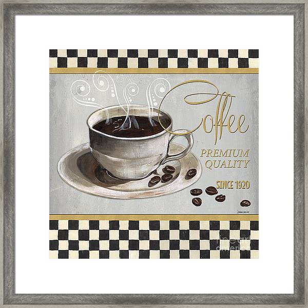 Coffee Shoppe 1 Framed Print