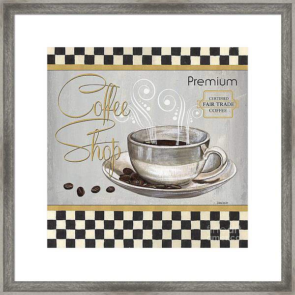 Coffee Shoppe 2 Framed Print