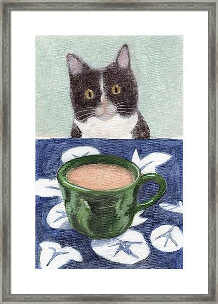 Coffee With Henry #4 Framed Print
