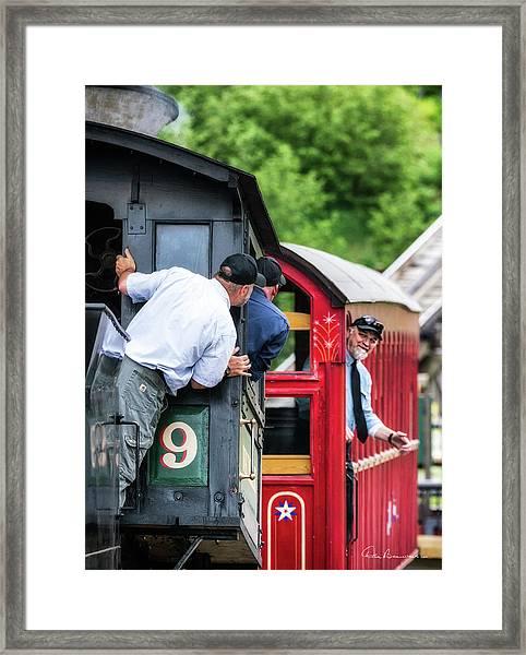 Cog Railway 7692 Framed Print