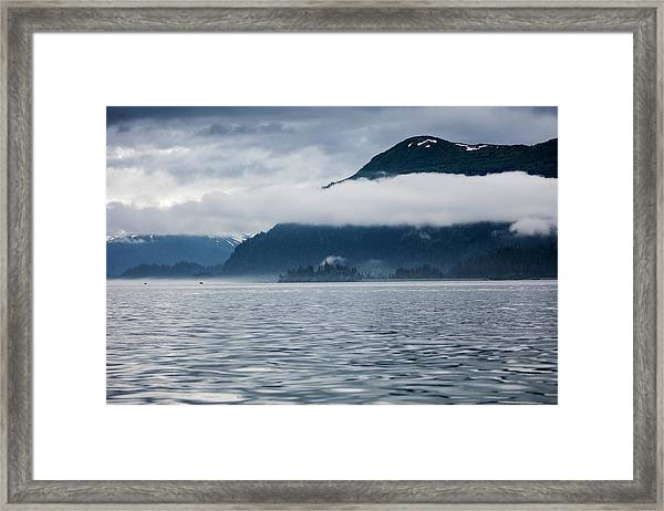 Cold, Cloudy Morning Framed Print