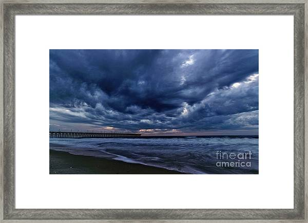 Framed Print featuring the photograph Cold Front by DJA Images