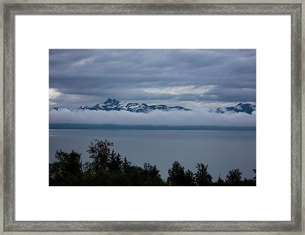 Cold Morning In Alaska Framed Print