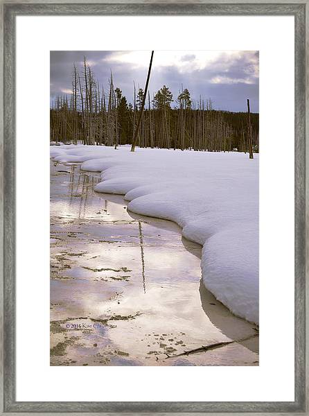 Cold Reflections Framed Print