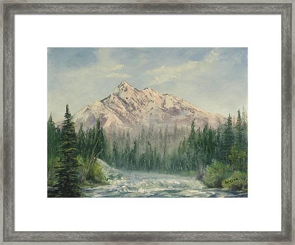 Cold Rush Framed Print